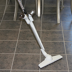 Store and maintain your central vacuum with this cool gear.